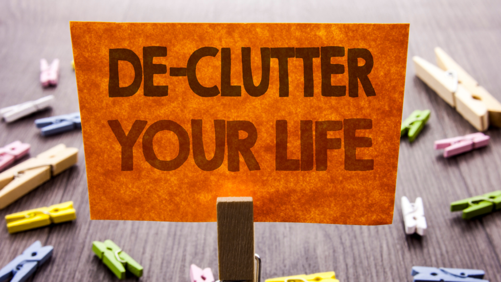 Tidy Time Saver - Declutter